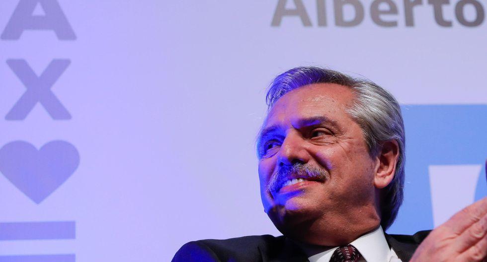 Alberto Fernández acusó al FMI de estar pagando con los casi US$57.000 millones que prestó a Argentina la campaña de Mauricio Macri. (Foto: EFE)