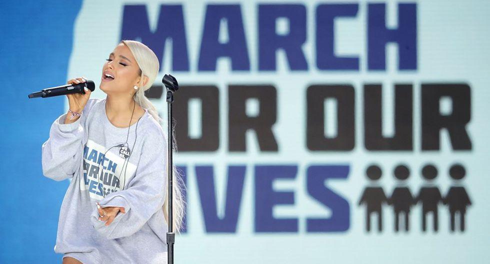 Marcha por nuestras vidas. (Fotos: Agencias)