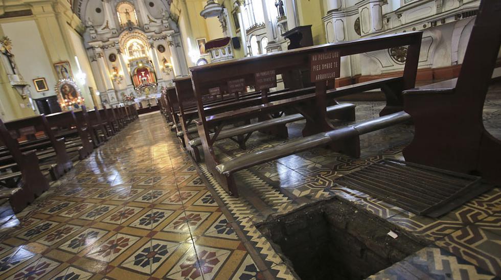 Las criptas de iglesias y sótanos del Centro de Lima [FOTOS] - 1