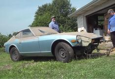 Volvió a la vida: este Datsun 280Z recibió su primera lavada luego de 44 años y quedó así   FOTOS