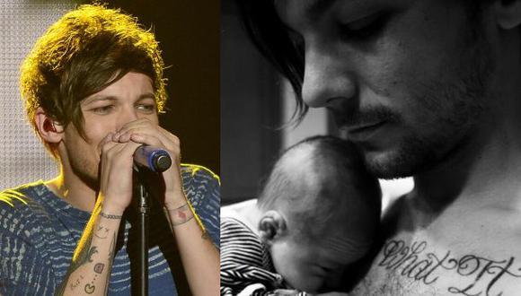 One Direction: Louis Tomlinson muestra a su bebé en Twitter