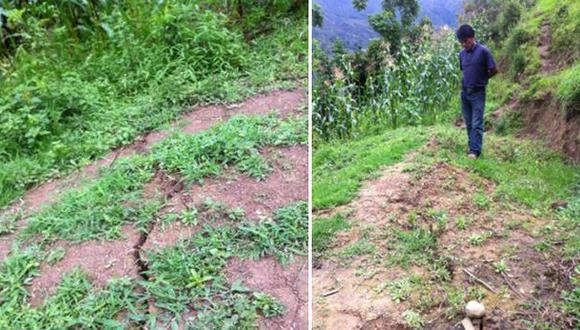 Lambayeque: lluvias podrían generar deslizamientos en Cañaris