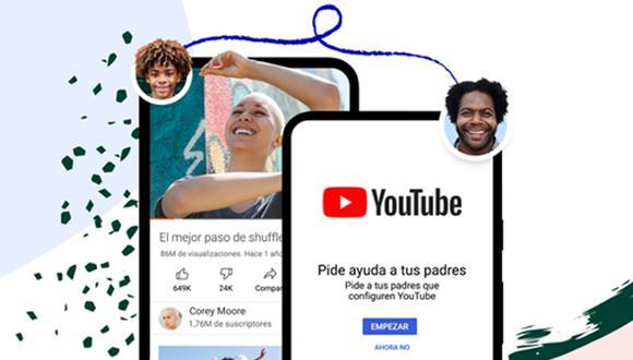 Conoce cuáles son las nuevas funciones de YouTube para proteger al pequeño del hogar. (Foto: YouTube)