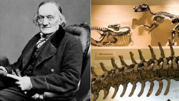 El hombre que inventó la palabra dinosaurio