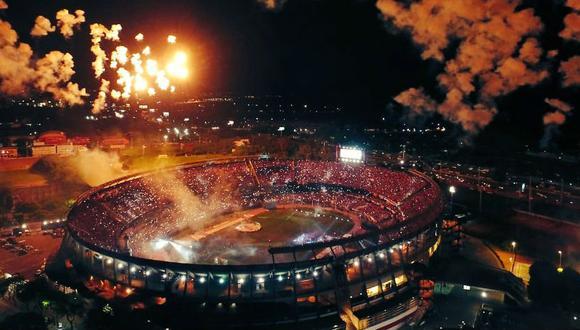 El Estadio Monumental de River Plate será la sede en la que se abrirá la Copa América 2021. (Foto: AP)