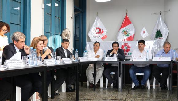 El presidente del Consejo de Ministros continúa ronda de diálogos con las agrupaciones que conformarán el nuevo Congreso. (Foto: Frente Amplio)