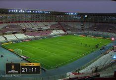 Sporting Cristal vs. Barcelona: señal internacional mostró la poca afluencia de público para el duelo por Copa Libertadores