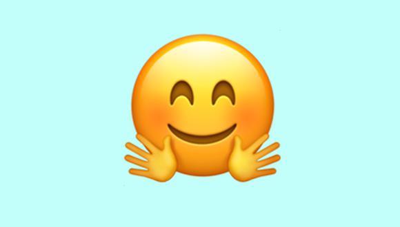 Conoce lo que significa este emoji con las manos abiertas. ¿Sabías que es totalmente distinto a lo que piensas? (Foto: Emojipedia)