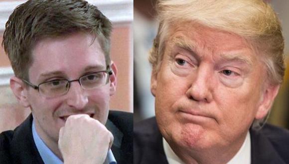 Abogado de Snowden pide a Trump cancelar persecución judicial