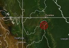 Ucayali: Sismo de 4,7 grados se sintió esta noche en Pucallpa