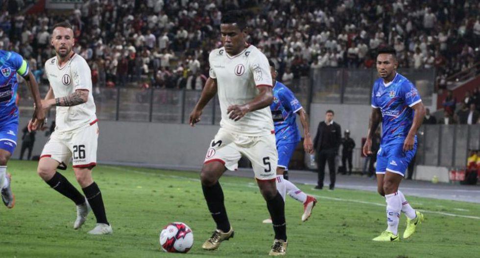 Universitario superó 2-1 a Unión Comercio con goles de Denis y Schuler en el Nacional | VIDEO. (Foto: USI)