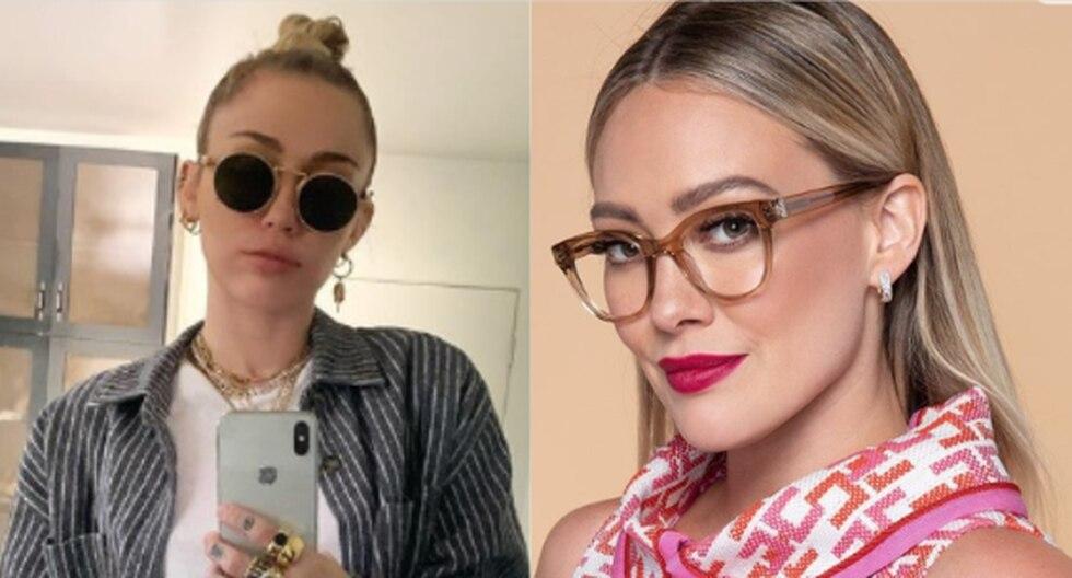 Miley Cyrus contó que cuando era niña admiraba mucho a Hilary Duff, y que gracias a ella incursionó en el mundo de la actuación (Foto: Instagram)