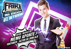 Friki Festival 2019: youtuber Memo Aponte llegará para esperado evento | FOTOS