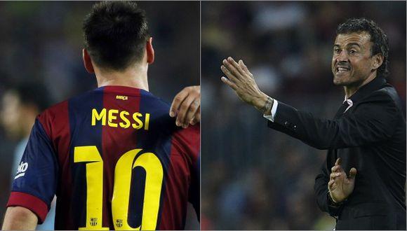 Luis Enrique no piensa dar descanso a Lionel Messi: esto dijo