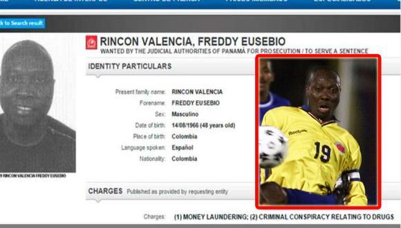 Freddy Rincón: Interpol pide captura del ex jugador colombiano