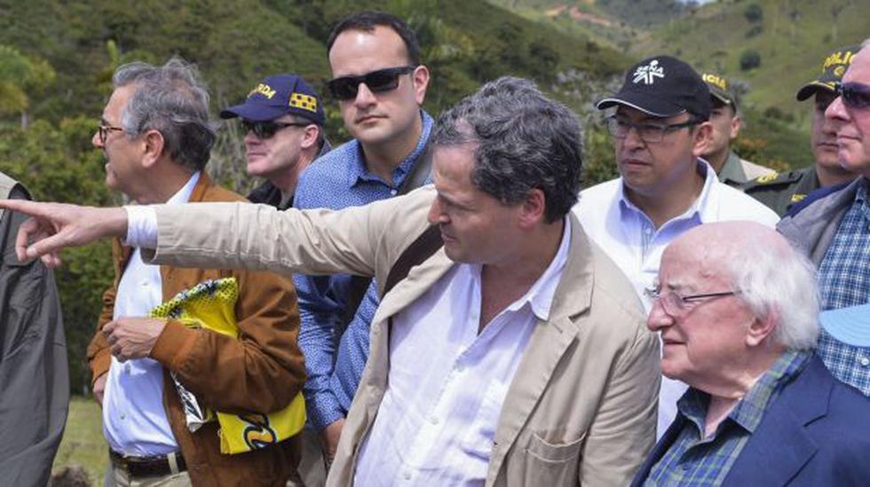 Presidente de Irlanda visitó sitio de agrupamiento de las FARC - 2
