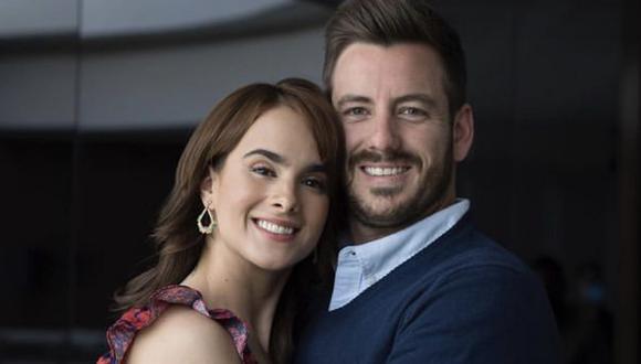 """Gala Montes y Juan Diego Covarrubias son los protagonistas de """"Diseñando tu amor"""" (Foto: Televisa)"""