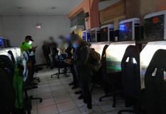 Junín: encontraron a cinco menores de edad durante la intervención a sala de videojuegos   VIDEO