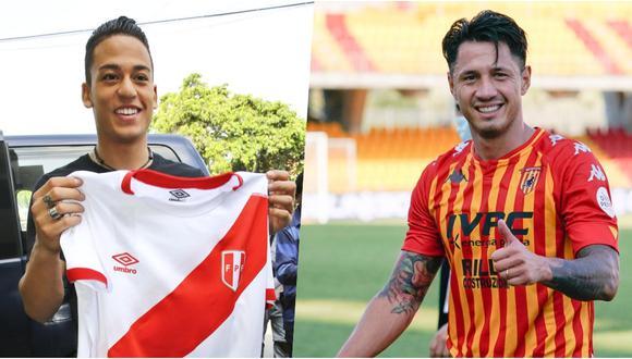 Cristian Benavente jugó para la selección peruana. Gianluca Lapadula juega en Benevento y tiene dos goles en la presente temporada. (Fotos: Archivo)