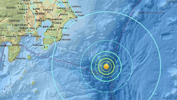 Japón: Terremoto de 6,5 grados sacude el sureste de Tokio