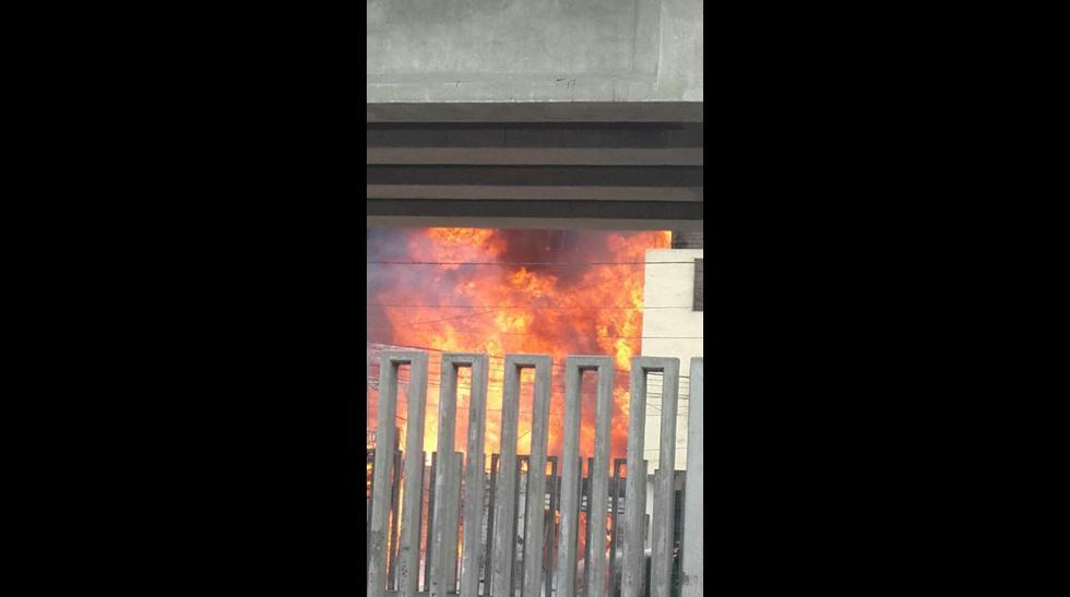 Twitter: fotos del incendio en 'La Cachina' - 7