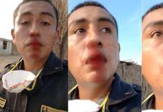Piura: Turba ataca a palazos a comisario cuando hacía cumplir el estado de emergencia