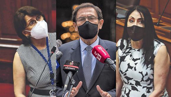 Martín Vizcarra, la ex ministra de Salud Pilar Mazzetti y la ex cancller Elizabeth Astete figuran en la lista de las personas que recibieron la vacuna de Sinopharm fuera de los ensayos clínicos.
