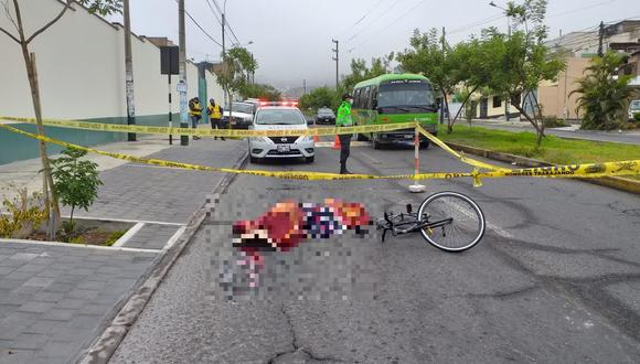 El primero fue atropellado esta madrugada en el cruce de la cuadra 42 de la Av. La Molina y la calle La Punta, mientras que el segundo, perdió la vida esta mañana en la cuadra 16 de la Av. Los Fresnos, su muerte está en investigación. (Foto: Francisco Rodríguez)