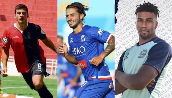 La Liga 1 cerró el libro de pases días atrás, y Cuesta, Felucho y Ascues son tres contrataciones que generaron más noticias el último fin de semana. (Foto: GEC / Liga 1 / Alianza Atlético)