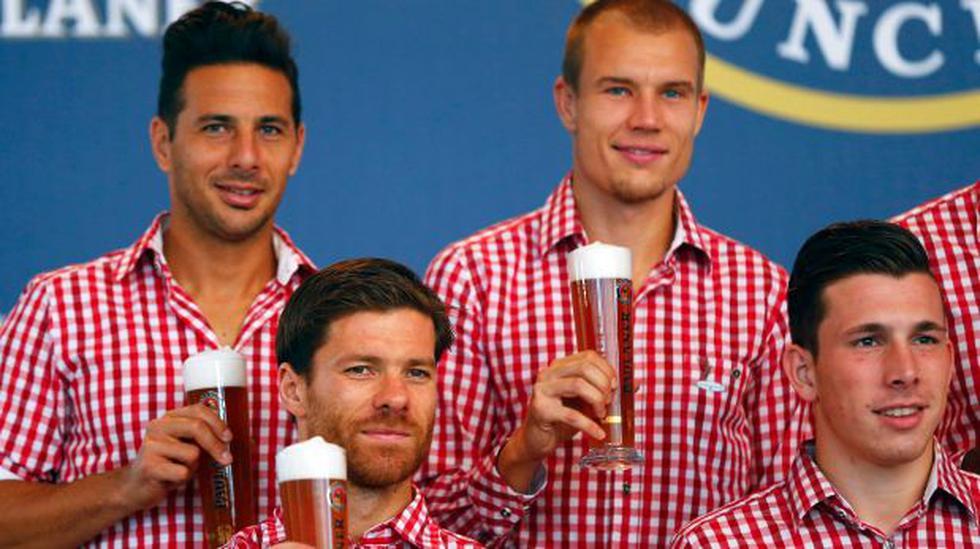 Xabi Alonso no necesitó ni tres días para adaptarse al Bayern - 1