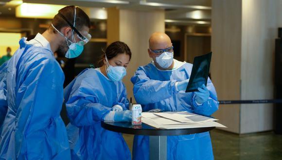 En España, la pandemia ya causó 10,935 muertes y 117,710 infectados, siendo la segunda cifra más alta del mundo, detrás de Estados Unidos. (Foto: PAU BARRENA / AFP).