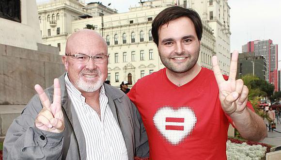 Unión civil: Bruce y De Belaunde presentaron hoy nuevo proyecto