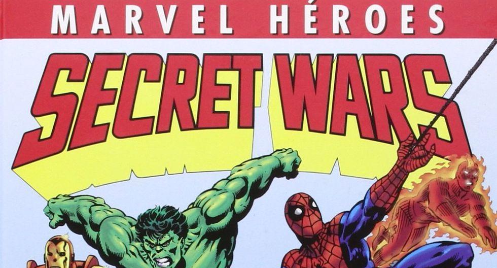 """El cómic """"Secret Wars"""" podría ser uno de las próximas ficciones en la pantalla grande. (Foto: Difusión)"""