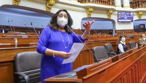 Violeta Bermúdez, presidenta del Consejo de Ministros. (Foto: GEC)