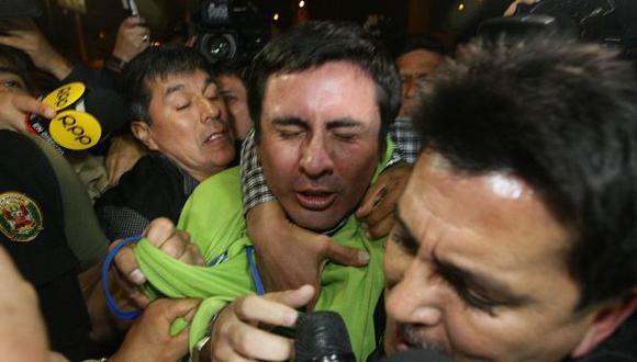 Paul Olórtiga fue trasladado al penal de Río Seco