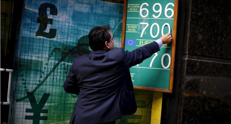 El dólar había superado la marca de los 800 pesos desde el martes, cuando hubo un recrudecimiento de los incidentes violentos. (Foto: Reuters)