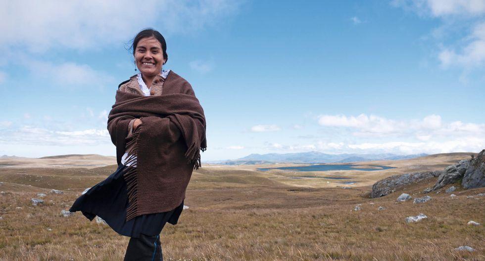DEFENSORA DEL AGUA. Desde niña, la abogada y activista ambiental Nélida Ayay se dedica a proteger lagunas en Cajamarca.