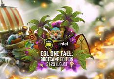 ESL One Fall 2021 |  Las partidas de Beastcoast y Thunder Predator en el torneo del popular Dota 2