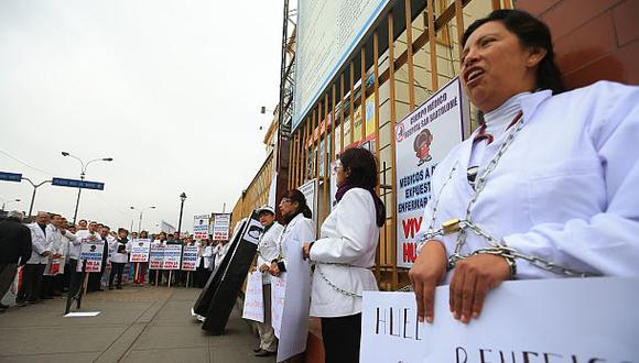Huelga médica solo fue acatada en un 0,12%, según el Minsa