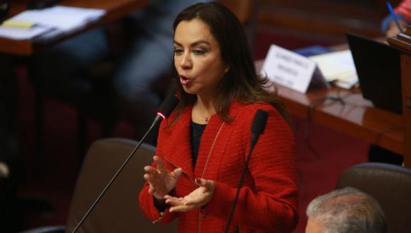 Marisol Espinoza (Foto: Lino Chipana / El Comercio)