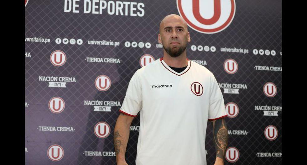 Universitario: Guillermo Rodríguez . (Foto: Universitario).