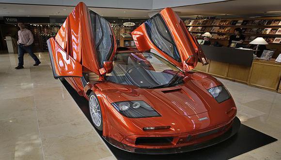 Mclaren F1, un auto por el que pagarían hasta US$15 millones