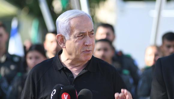 El primer ministro de Israelí, Benjamin Netanyahu. EFE