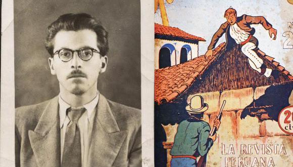"""Demetrio Peralta (Puno, 1910 - Lima, 1971) fue el autor de las historietas """"Pedrito, el indiecito estudiante"""" y """"El bandolero fantasma"""", poco difundidas hasta hoy. (Foto: archivo de Pedro Pineda Aragón)"""