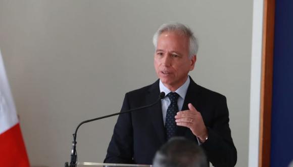 Aldo Vásquez se refirió a la provisionalidad que existe en el Poder Judicial y el Ministerio Público. (Foto: GEC)