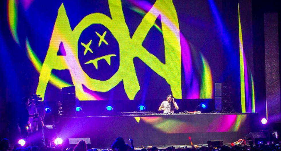 Steve Aoki y una noche delirante en Lima (CRÓNICA) - 3