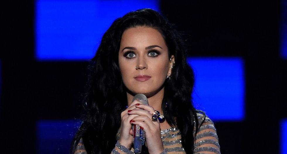 "Katy Perry saltó a la fama con ""I Kissed a Girl"". (AFP)"