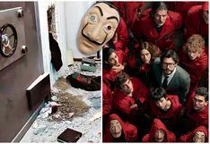 """Así se hizo """"La casa de papel"""" y este es el robo que la pudo inspirar (aunque sus creadores lo nieguen)"""
