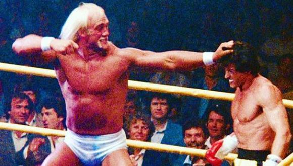 Sylvester Stallone recordo esta escena con Hulk Hogan. (Foto: Instagram)