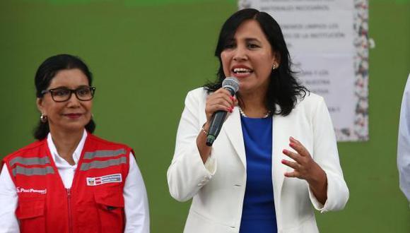 Flor Pablo será interpelada por el Congreso por errores ortográficos y contenido inapropiado en los textos escolares que entrega el Minedu. (Foto: GEC)